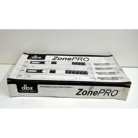 DBX Zone Pro 1261 M