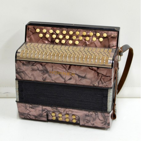 Diatonic Accordion Hohner Liliput C/F