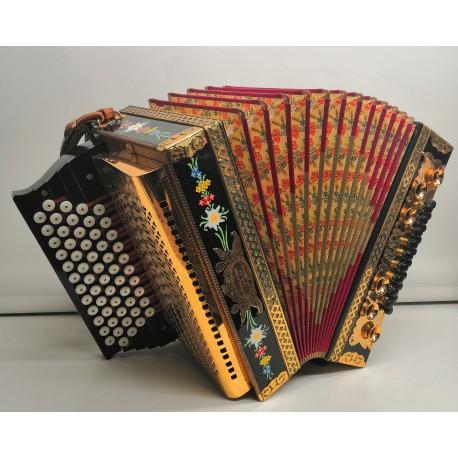 Diatonic accordion E. & T Minarski 36 basses