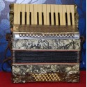 Accordion Granesso, 32 basses